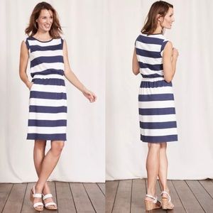 Boden | Blackberry Dress Striped Pockets